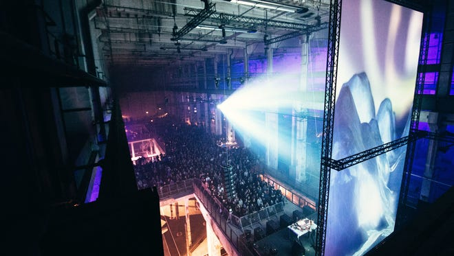 The Berlin Atonal festival. Image is from 2014's event.