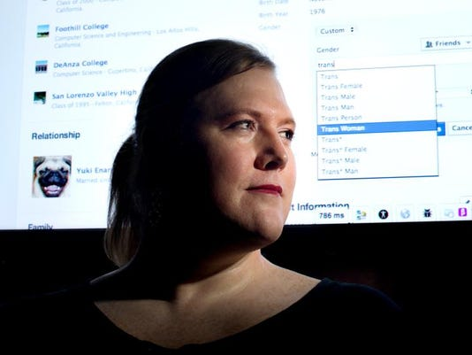 APTOPIX Facebook New Gender Options