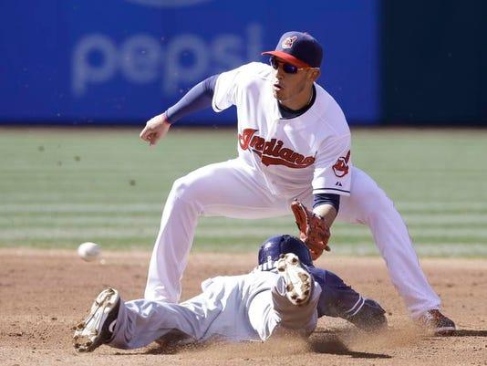 Padres Indians Baseball