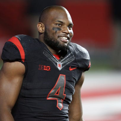 Rutgers football star Leonte Carroo was taken by the