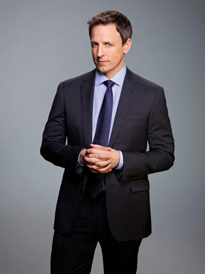 'SNL' head writer Seth Meyers moves to his new gig at 'Late NIght' on Feb. 24.