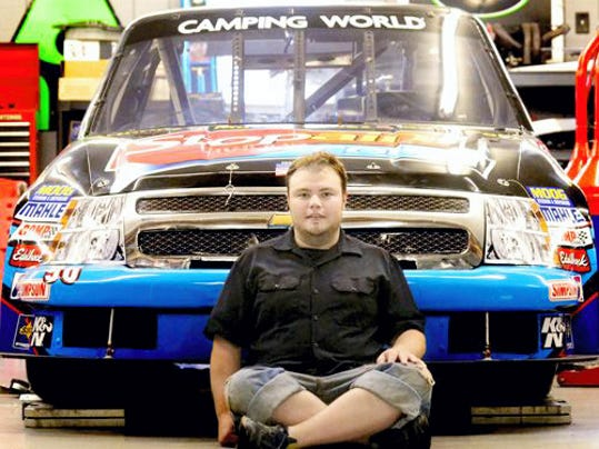 Glenville's Todd Peck has competed in 14 NASCAR Truck Series races. He plans to drive in his 15th Truck Series race on Aug. 1 at Pocono Raceway.