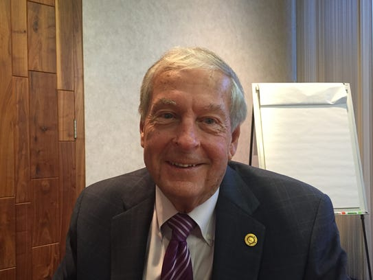 Kenneth Walker, President of the John E. & Aliese Price