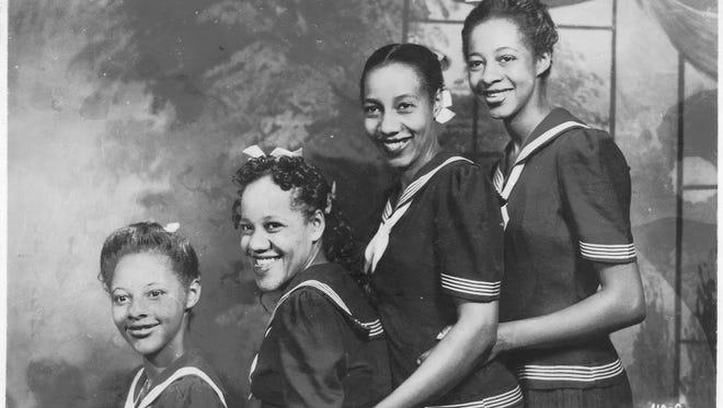 The Hampton Sisters: (from left) Dawn, Caramalita, Aletra and Virtue.