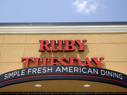 Ruby Tuesday file art, Knoxville News Sentinel staff.