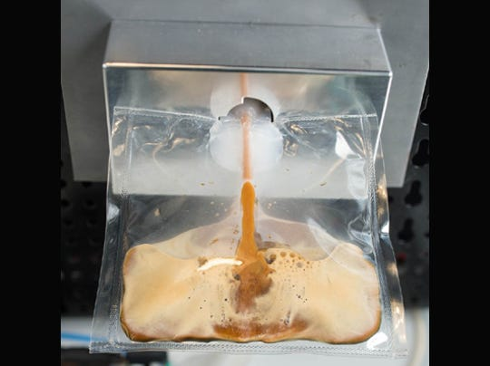 Espresso headed to space