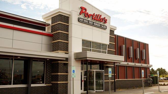 Work continues on the new Portillo's restaurant at  3400 Freedom Drive in Springfield on Nov. 10. The business plans to open Dec. 8.
