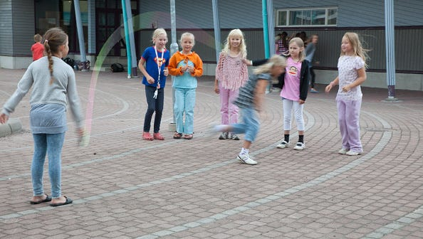Child development experts agree recess is just as important as reading, writing and arithmetic. They believe without it the other three 'R's do suffer.