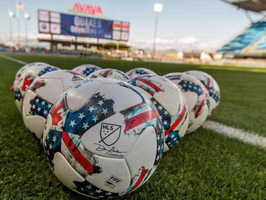 USP MLS: SEATTLE SOUNDERS FC AT SAN JOSE EARTHQUAK S SOC SJE SEA USA CA