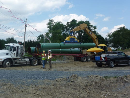 Texas Eastern Pipeline project