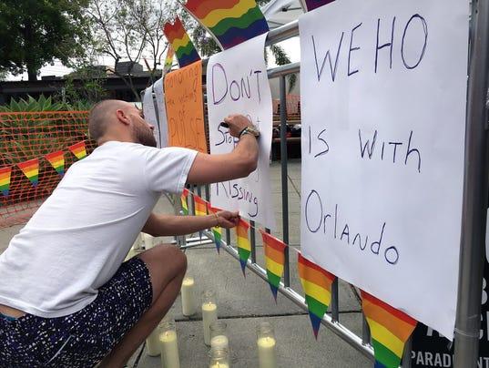 AP NIGHTCLUB SHOOTING GAY PRIDE LA A USA CA