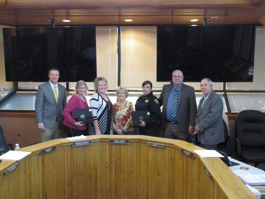 Eddy County Service Awards