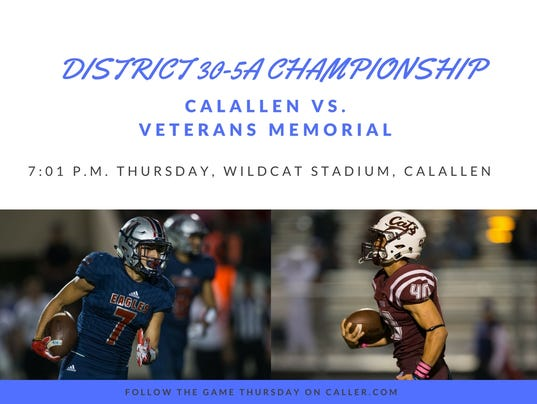 District 30-5A Championship Graphic