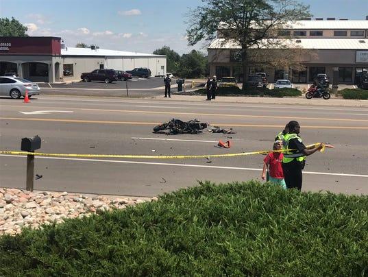 2 Injured In South Fort Collins Car Vs Motorcycle Crash