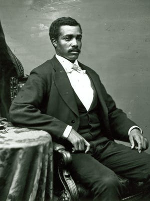 Portrait of Congressman Josiah Thomas Walls. Between 1871 and 1876.