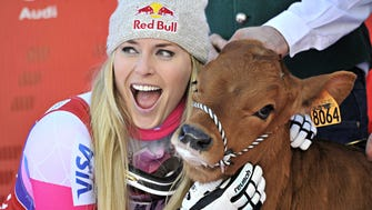 Lindsey Vonn came in first place at the Audi FIS Alpine Ski World Cup Women's Downhill on Dec. 20.