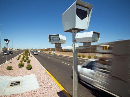 Photo-enforcement camera