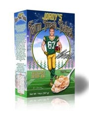 Jordy's Farm Fresh Flakes cereal hits grocery stores this week.