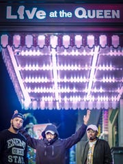 Dover hip hop act Trio at World Cafe Live at the Queen in Wilmington last month.