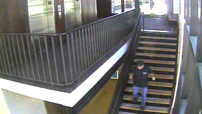This man is wanted by the Carson City Sheriff's Office for robbing an 87-year-old at Bodine's Casino.