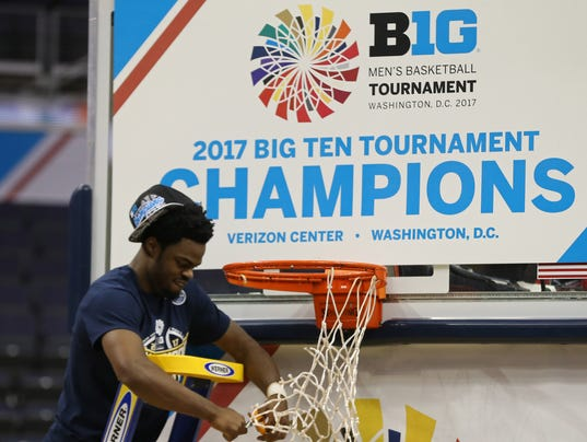 NCAA Basketball: Big Ten Conference Tournament Final-Michigan vs Wisconsin