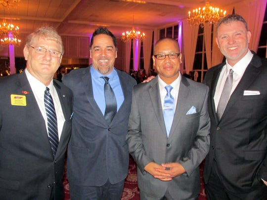 From left, Skip Burks, Randy Odom, Michael Ralllings and Chuck White were at Hearts for Hope.