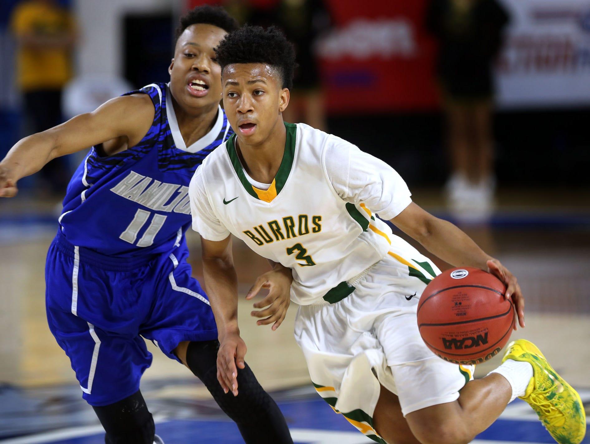 Hillsboro High School's Donovan Donaldson signed with Cumberland University on Thursday