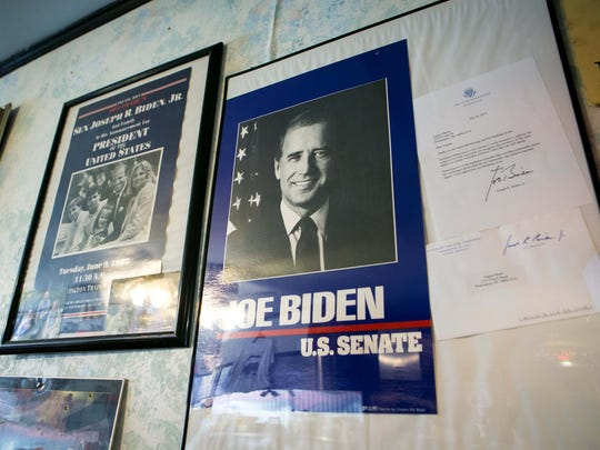Former Vice President Joe Biden was a regular at Angelo's Luncheonette in Wilmington.