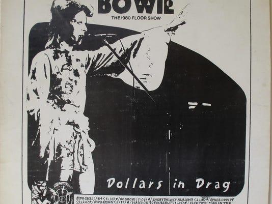 Bowie bootleg album cover art