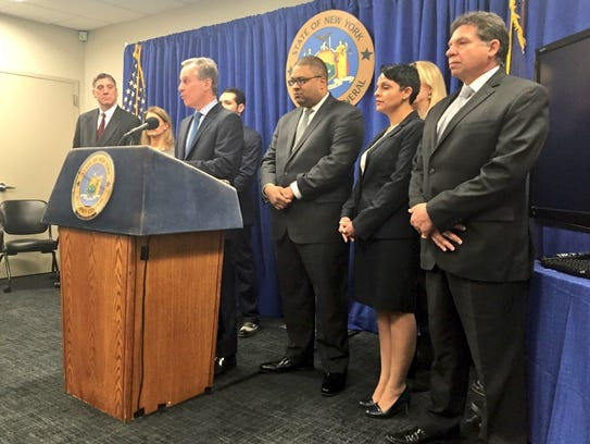Attorney General Schneiderman's press conference on