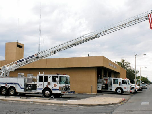 The Deming Fire Department fleet will be on display today to acknowledge the 14th anniversary of the the events of Sept. 11, 2001.