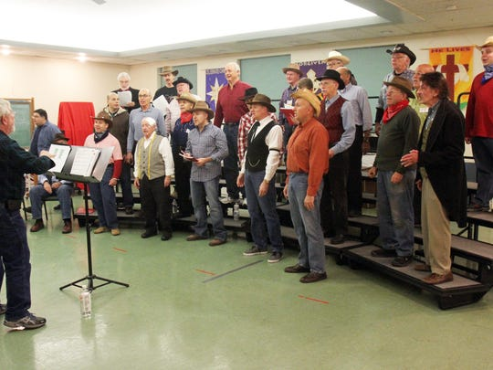 The Hunterdon Harmonizers hold a dress rehearsal at
