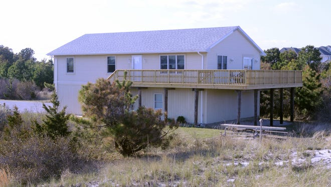 A beach house south of Dewey Beach, once used by staff at Delaware Seashore State Park, has been updated and now is listed as a summer rental. Park officials hope it will generate at least $40,000 in rent.