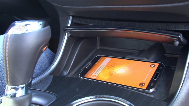 Engineers added a cold air vent to certain Chevrolets for the 2016 model year to help keep smart phones wirelessly charging in the car from overheating