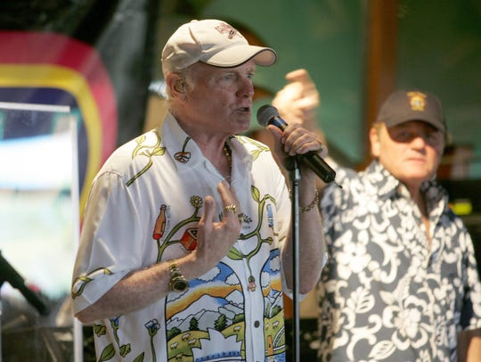 Mike Love, pictured in 2006 in Point Pleasant Beach.
