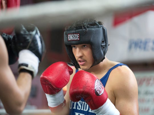 """Miles Teller in """"Bleed for This."""""""