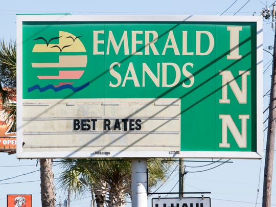Santa Rosa County Sheriff Office crime scene unit investigates the deaths of two people at the Emerald Sands Inn in Milton on Tuesday, January 31, 2017.