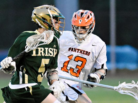Central York vs York Catholic boys' lacrosse championship