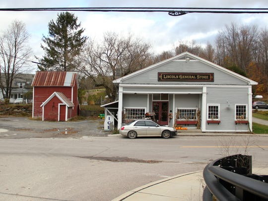 The Lincoln General Store sits at the center of downtown