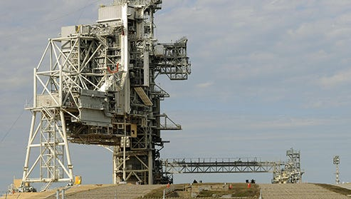 Private firms SpaceX and Blue Origin have expressed interest in Kennedy Space Center's Launch Pad 39A.