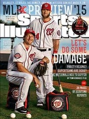 Max Scherzer made a regional cover for SI's baseball preview.
