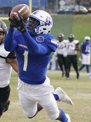 Steven Newbold was Tennessee State's second-leading receiver last year with 34 catches for 627 yards and four touchdowns.