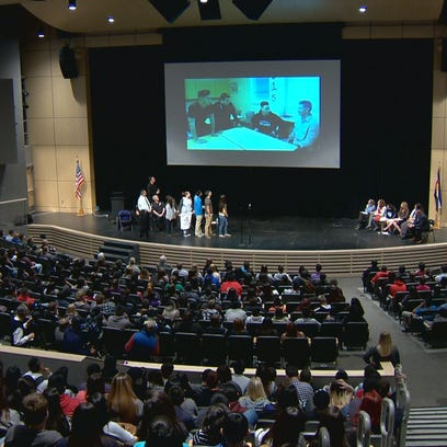 A group of Adams County high school students hosted
