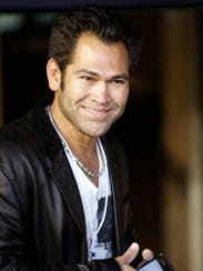 Former professional baseball player Johnny Damon