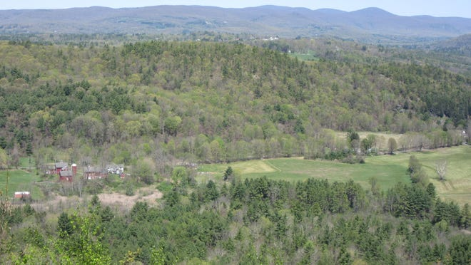 Connecticut farm in the foothills of the Taconic mountain range.