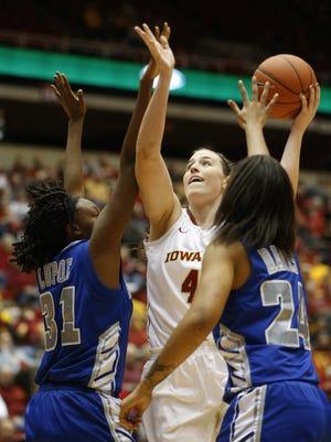 Iowa State center Bryanna Fernstrom has transferred to Minnesota.