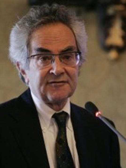 NYU philosophy professor and author Thomas Nagel is shown in 2008. (ASSOCIATED PRESS -- FILE)