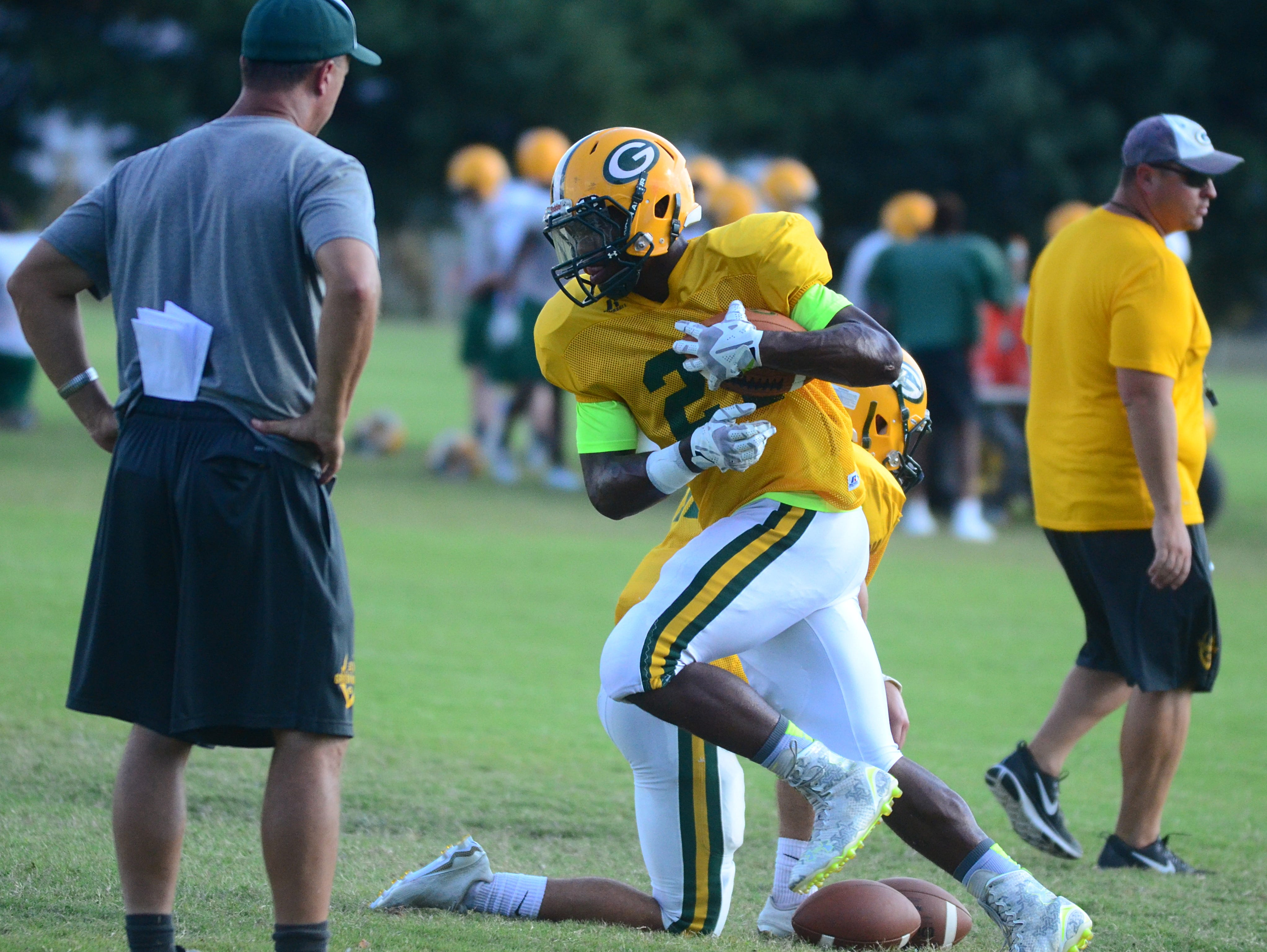 Gallatin senior Jordan Mason has nine rushing touchdowns in four games, and four of those are of at least 40 yards in length.