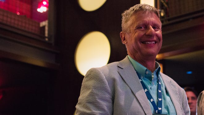 Gary Johnson came to Philadelphia on Thursday in the hopes of picking up more support.