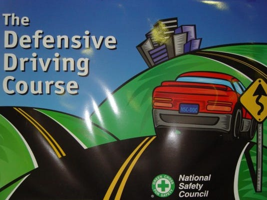 Defensive-driving course